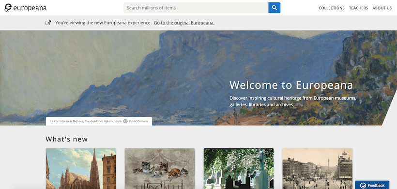 Biblioteca digital Europeana